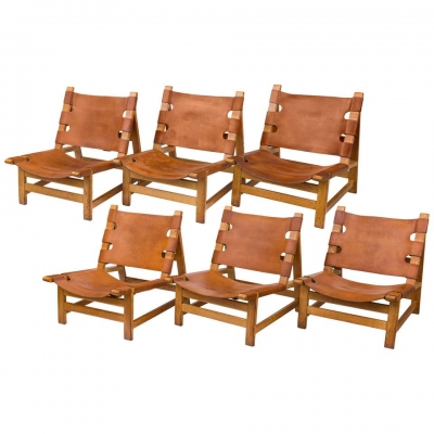 Børge Mogensen Lounge Chairs