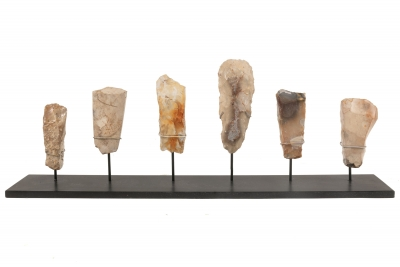 Collection of Neolithic Flint Stone Tools