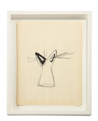 "Gio Ponti Sketch ""Disegni per Vasi Incrociatifor"""