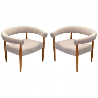 Ring Chairs in the Style of Nanna Ditzel