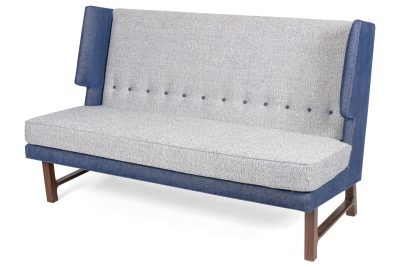 Wing Settee in the Manner of Dunbar