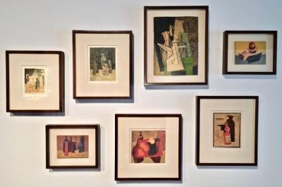 Collection of Hank Virgona Mixed Media Artworks