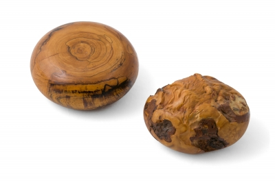 Melvin Lindquist Sculptural Handcrafted Wood Paperweights