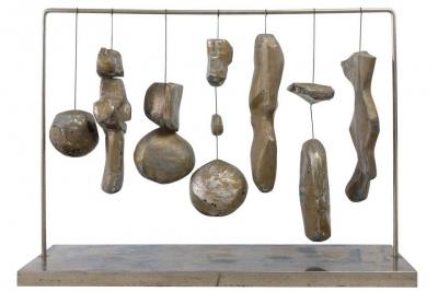 Abstract Kinetic Sculpture by Bent Sorensen