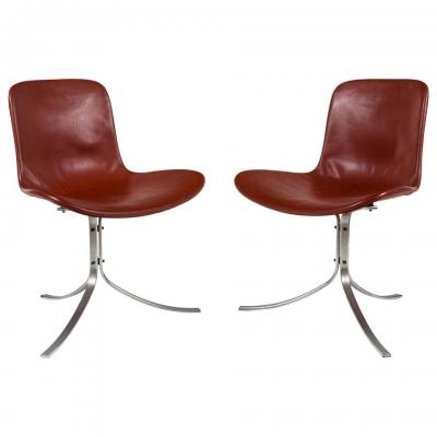 Poul Kjaerholdm PK 9 Side Chairs for E. Kold Christensen