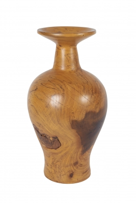 Mevin Lindquist Spalted Magnolia Turned Vase