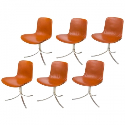 Poul Kjaerholdm PK 9 Side Chairs