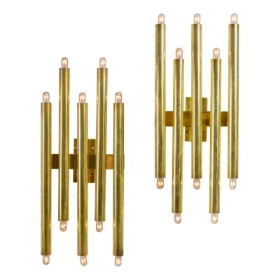 Gio Ponti Multi Cylinder Sconces