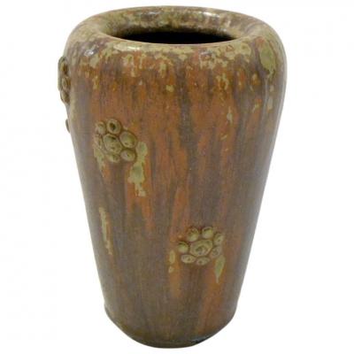 Stoneware Vase by Arne Bang