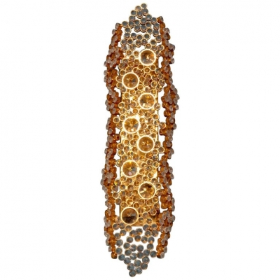Palwa Crystal Glass Sconce