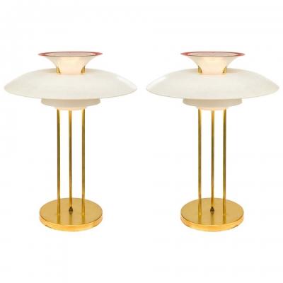 Poul Henningsen PH 5 Table Lamps for Louis Poulsen