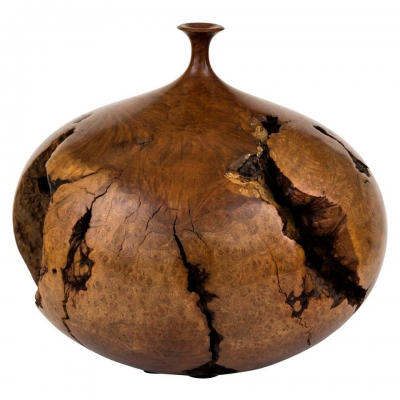 Hap Sakwa Turned Manzanita Wood Vessel