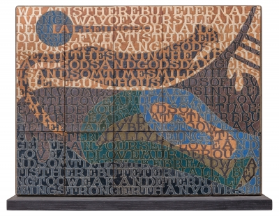 Bo Kristiansen Stoneware Tile Panel