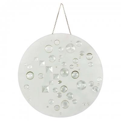 Mary Bauermeister Glass Disc Sculpture
