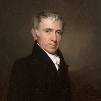 Samuel F. B. Morse (1791–1872), Dr. Thomas Fuller, 1829, oil on board, 11 x 9 in. (detail)