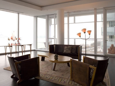 Design + Architecture at 165 Charles St. by Richard Meier
