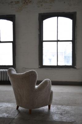 Gustav Axel Berg, Lounge Chair, Sweden, ca. 1940