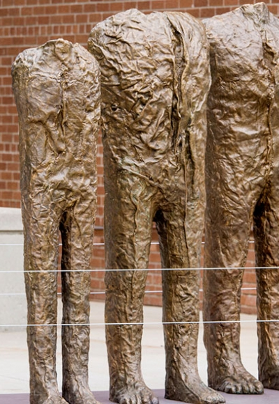 Magdalena Abakanowicz at Sculpture Milwaukee