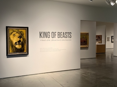 THE KING OF BEASTS at the Nevada Museum of Art