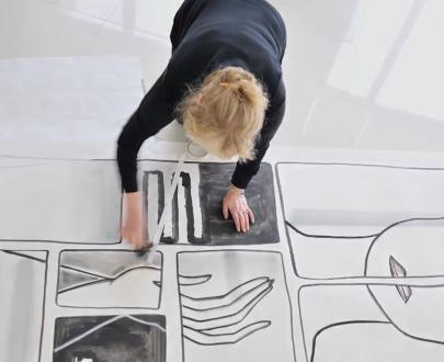 Barbara Nessim work on paper