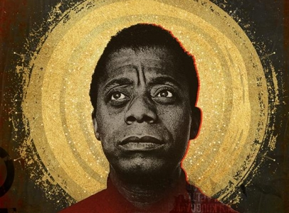 "Nicholas Galanin participation in MCA Chicago project ""Chapter and Verse: The Gospel of James Baldwin"""