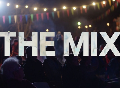 "Nicholas Galanin interviewed for the television show ""The Mix"""