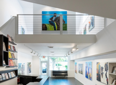 Marcus Brutus: Go To Work. Get Your Money and Come Home. You Don't Live There. - installation view