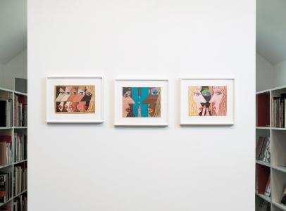 Brian Calvin - installation view