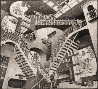 Exhibition at Bruce Silverstein features seventy-five works by M.C. Escher