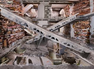 Marjan Teeuwen's installations transform condemned buildings