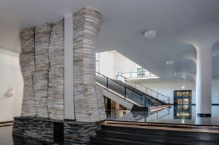 Marjan Teeuwen transforms 12 tons of demolition waste into art in Heerlen