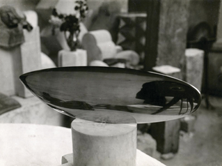 Constantin Brancusi at the Museum of Modern Art