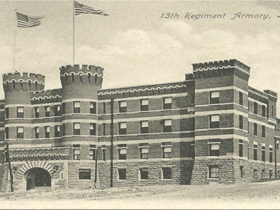 Scranton Armory, 1897, Scranton, Pennsylvania