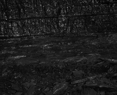 Miles Coolidge Coal Seam, Bergwerk Prosper-Haniel #4, 2013 pigment inkjet print 57 x 50 inches (144.8 x 127 cm)