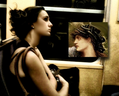 """Chris Marker """"PASSENGERS Untitled #200"""", 2011 color photograph mounted on white Sintra 22 3/4 x 31 1/2 inches (57.8 x 80.0 cm)"""