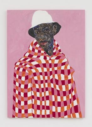 Amoako Boafo White Bucket Hat, 2020
