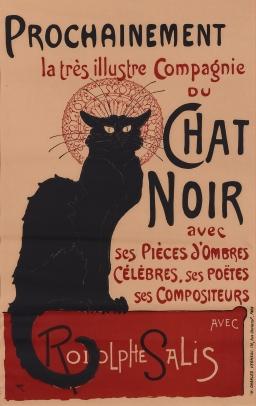 Théophile-Alexandre Steinlen, Chat Noir