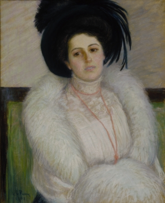 Lila Cabot Perry, Portrait of Alice Perry Grew