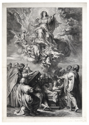 The Assumption of the Virgin (After Rubens)