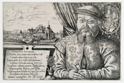 Portrait of Hieronymus Schurstab