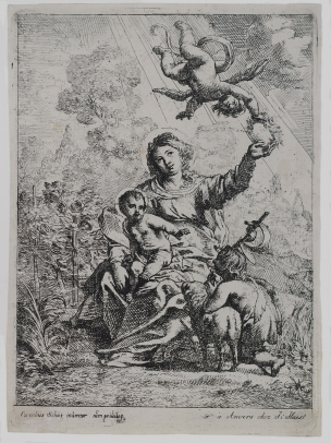 The Virgin and Child with St. John the Baptist