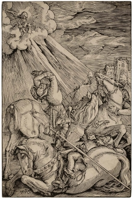 Hans Baldung Grien, The Conversion of St. Paul