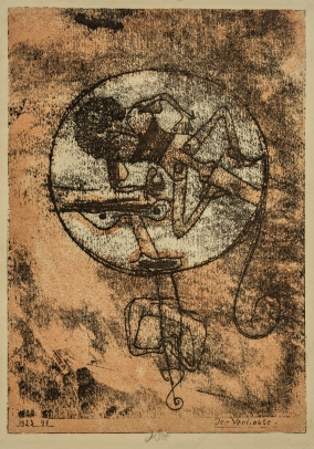 Paul Klee, Verliebte (The Man in Love)