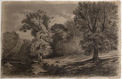 Paysage à la Clairière