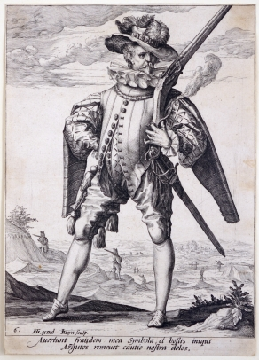 A Musketeer from the Bodyguard of Emperor Rudolph II