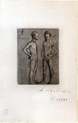 Picasso, Les Deux Saltimbanques