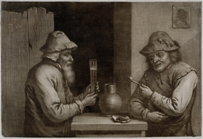 Two Peasants in a Tavern