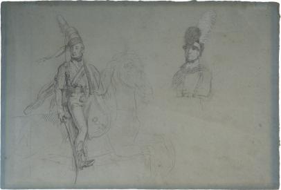 "John Singleton Copley, Prince Regent, Study for ""Battle of the Pyrenees"""