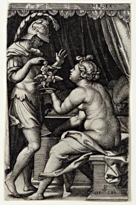 Medea Giving Jason the Household Gods