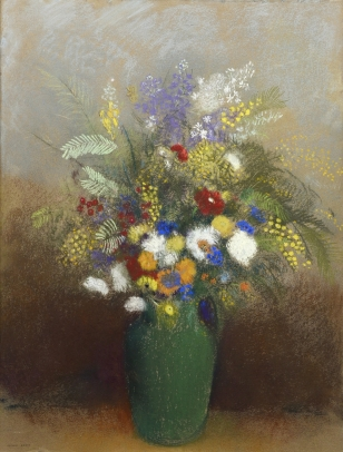 Odilon Redon, Bouquet of Flowers